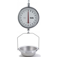 K8215DD-T-AS 13-inch Dual Dial Hanging Scale with Hanging Pan
