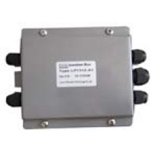 "Junction Box (With Summing Card) - Painted Mild Steel - 4 Channel - 6""(L) x 4.5""(W) x 1.5""(H)"