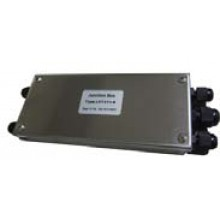 "Junction Box (With Summing Card) - Stainless Steel - 4 Channel - 8""(L) x 3""(W) x 1.5""(H)"