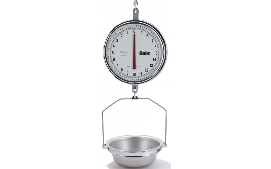 8230dd T As 13 Inch Dual Dial Hanging Scale With Pan