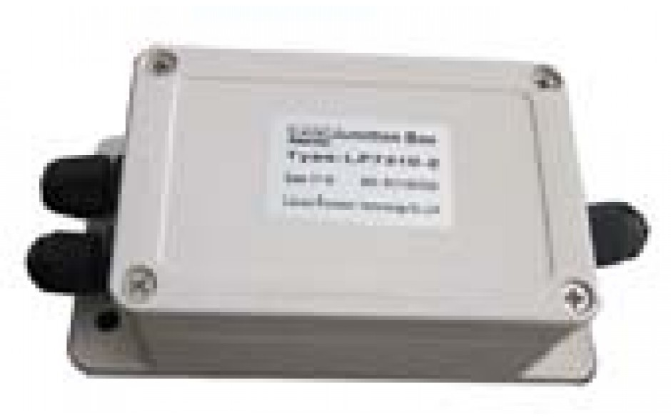"""Junction Box (With Summing Card) - Plastic - 2 Channel - 13""""(L) x 7 """"(W) x 5""""(H)"""