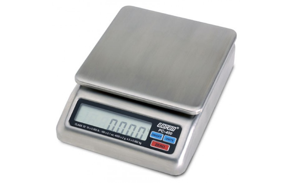PC-400 Stainless Portion Control Scale