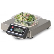 6112 Portion Control and Medical Scale with Touchless Zero with Flat Rear Display Bracket