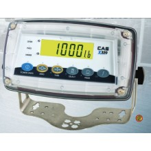 CAS X320B Washdown Indicator With Batteries and Battery Charger