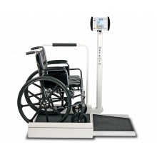 Detecto 6495 Series Digital Wheelchair Floor Scale