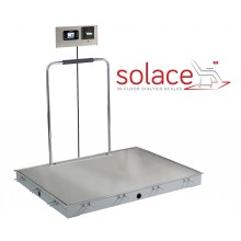 ID-3636SH-855RMP Solace In-floor Dialysis Scale with Handrails