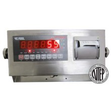LED Weighing Indicator with Integrated Thermal Printer (NTEP CC #: 09-070A1) OP-900P-12