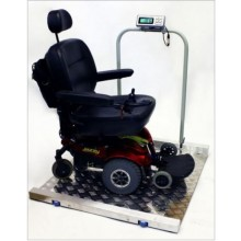 LWC-800 Wheelchair Scale 800lb x .2lb